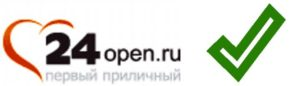Лого сайта знакомств - 24опен