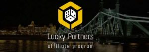 Логотип партнерки - Luckypartners