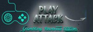 Логотип партнерки - PlayAttack