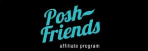Логотип партнерки - PoshFriends